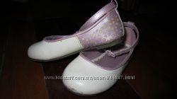 Туфельки р. 23 стелька 14, 5см Mothercare балетки босоножки тапочки туфли