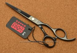 Ножницы  парикмахерские KASHO Япония прямые серый глянец  6 дюймов