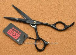 Ножницы 5. 5 парикмахерские KASHO прямые чёрные