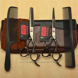 Ножницы 6. 0 парикмахерские с кристаллами Swarovski