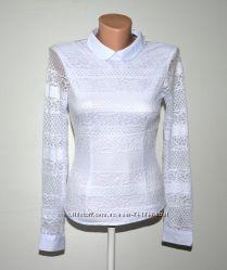 Нарядная школьная блуза для девушки S-XXL