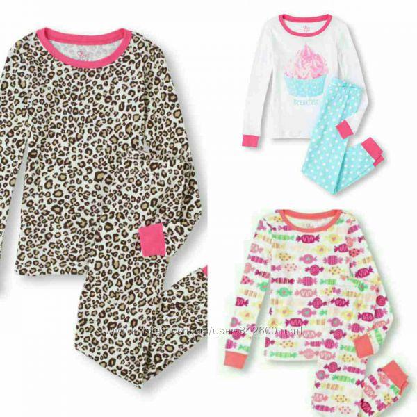 Пижамки на девочку ChildrensPlace 3-4 года Новые
