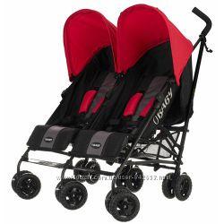 Коляска трость для двойни OBaby Apollo Twin Stroller
