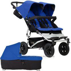 Универсальная коляска для двойни, близнецов Mountain buggy duet