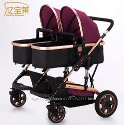 Универсальная коляска для двойни