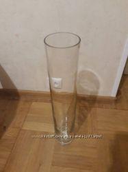 Ваза цилиндр стекло