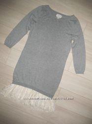 класне плаття-туніка некст 36розмір С як нове