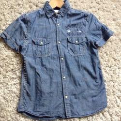 Джинсова сорочка НМ на 11-12років