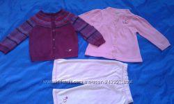 набор одежды , две кофточки  штаники  на 6-9 мес