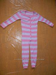 6-7 лет, р. 122-128 хлопковый слип пижама Primark