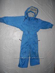 р. 104-110, лыжный комбинезон, Quechua, Франция, теплый зимний  комбинезон