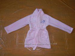 4-6 лет, р. 104-116 см, теплый флисовый халат