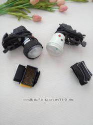 Свет для фотостудии - фотовспышки с насадками и цветными фильтрами