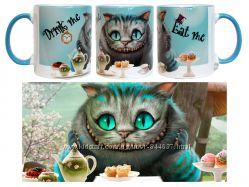 Чашка Чеширский кот