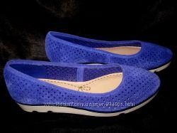 Перфорированные туфли Clarks