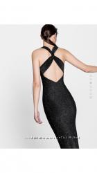 Нарядное облегающее платье с голой спиной Pull&Bear S
