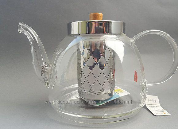 Стеклянные чайники