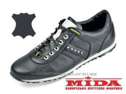 Кожаные кроссовки Мида 11886