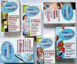 DGP вітамінний комплекс. Omega 3. A-Z depot. D3 Kids. Augen Kapseln