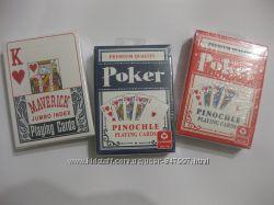 Карты игральные, покер, для фокусов.