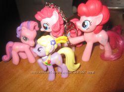 Четыре лошадки My little pony.