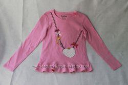 Лонгслив футболка с рукавами на рост 122-128