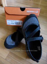 Девочковые спортивные туфли merrell хорошее состояние us 2, 5, стелька 21, 5