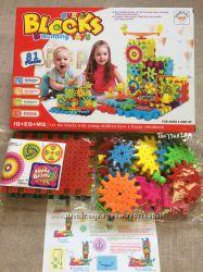 3D конструктор Фанни Брикс Funny Bricks Blocks 81 деталь