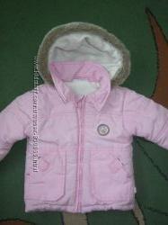 Зимняя курточка на девочку 12-24 мес