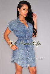 Шикарное платье рубашка от американского бренда