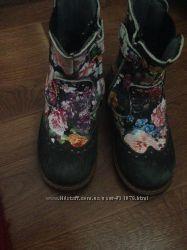 Ортопедические утеплённые ботинки 28р