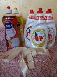 Для мытья посуды Fairy, Kraft