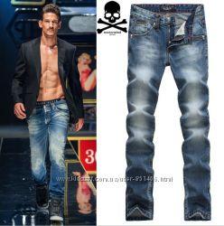 Оригинальные мужские джинсы PHILIPP PLEIN , DSQUARED, LEVIS
