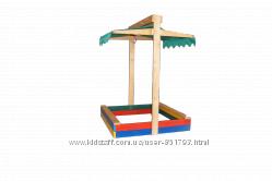 Песочницы с крышей, крышкой по Мега выгодной цене