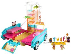 Раскладной фургон для щенков Барби, Barbie Ultimate Puppy Mobile