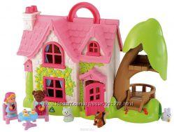 Домик с наполнением и садом, Happyland, ELC, Mothercare