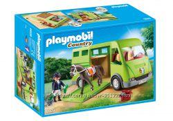 Playmobil 6928 Автобус для перевозки лошадей, ветеринар в подарок