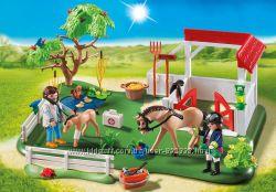 Playmobil 6147 Загон для лошадей, визит ветеринара