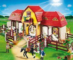 Playmobil 5221 Большая конюшня с наполнением