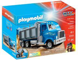 Playmobil 5665 Большой грузовик-самосвал