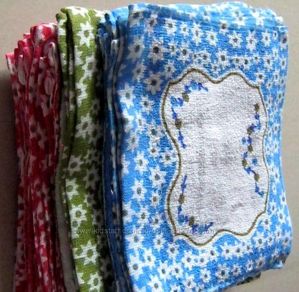 Салфетки-полотенца кухонные плотные 23х25