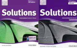 Комплект Solutions Intermediate Student&acutes  Workbook 2nd Ukraine
