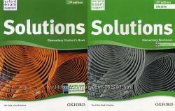 Комплект Solutions Elementary Student&acutes  Work Ukraine 2-nd
