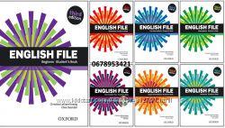 Комплект English File Student&acutes Book  Work Book