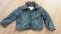 Пиджак джинсовый на мальчика на 2-3 года