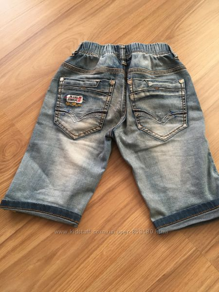 Модные шорты мальчику 4-6 лет