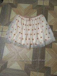 Стильная юбка ZARA на девочку рост 152