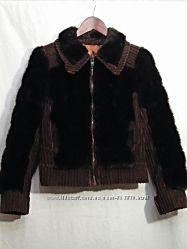 Verel paris, шубка винтаж куртка искусственный мех вельвет, made in france