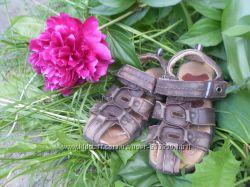 Кожаные босоножки сандали Стелька 17 см