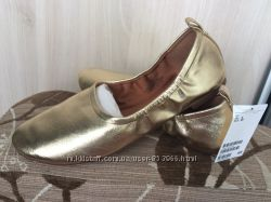 Золотые черевички фирмы h&m, 39р